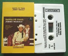 Jimmy Wakely Santa Fe Trail Stetson Label HATC 3012 Cassette Tape - TESTED