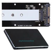 """B Key M.2 NGFF SSD to 2.5"""" SATA  Converter Adapter Card 2230-2280 for Laptop PC"""