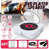 Tragbarer CD Spieler bluetooth CD-Player MP3 Musik Wand Lautsprecher RC FM  *
