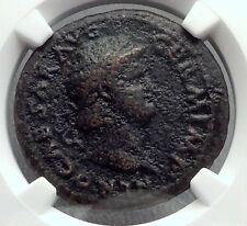 NERO Original 65AD Rome VICTORY Authentic Ancient NGC Certified Coin i60251