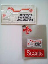 Singapore Boy Scout Patch Set