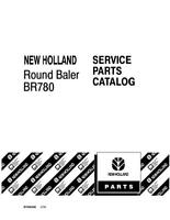 NEW HOLLAND BR780 ROUND BALER PARTS CATALOG