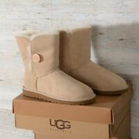 UGG AUSTRALIA STIVALE DONNA W BAILEY BUTTON 5803 W