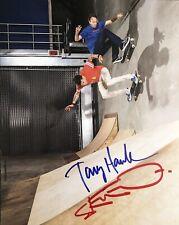 TONY HAWK STEVE O DUAL SIGNED SKATEBOARD 8x10 PHOTO RARE JACKASS PRO SKATER