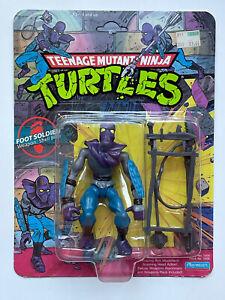 Vintage 1990 Playmates TMNT Ninja Turtles Foot Soldier Mint on Card Unpunched