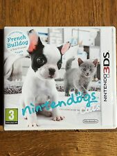 Nintendogs + Cats French Bulldog (unsealed) - 3DS UK Release New!