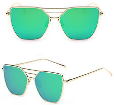 Women's UV400 Retro Metal #5 Frame Aviator Mens Sunglasses Eye Glasses Eyewear