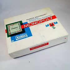 Vintage Monopoly Parker Brothers Real Estate Trading Game Equipment 1961