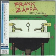 FRANK ZAPPA JAPAN MINI WAKA JAWAKA CD MOTHERS HOT RATS.