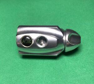 NEW DeSIGNZ UL Ultra Lite ON/OFF ASA w/ Purge Paintball NDZ Clear Gloss Silver