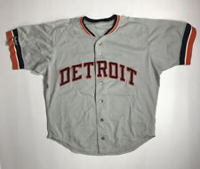 Late 1980's Detroit Tigers Team Issued Mesh BP Jersey Size 44 #31