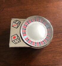 Spinning Roulette Table Casino Dice Gambler Metal Unisex Men's Belt Buckle