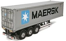 Tamiya 56326 1/14 EP RC Truck 3-Axle Maersk 40ft Container-Trailer Assembly Kit
