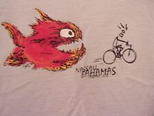 Pirana Joe Bicycle Nassau Bahamas blue M t s