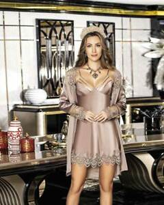 Women Satin and Lace Nightdress and Gown      European Products