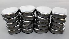 1 lb Large MAGNETIC Hematite Tumbled Stone (Crystal Healing Shiny Magnet) 16 oz