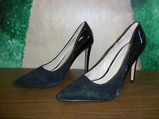 Carvela Kurt Geiger  Black Patent/Suede Pointed Toe Heels Size 9.5 M (EUR 40.5)