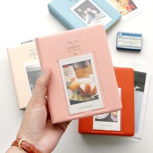 64 Pockets Photo Album Case For Fujifilm Instax Mini 11 8 25 50s 90 Storage Pink