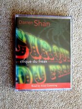 DARREN SHAN - CIRQUE DU FREAK - AUDIO BOOKS  - TALKING BOOKS  (2 CASS ETTES)