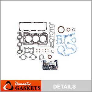 Fits 89-90 Geo Chevrolet Metro Sprint Pontiac 1.0L SOHC Full Gasket Set G10
