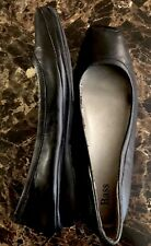 Bass Erica B .Driving Moccasins Womens Size 10M Blk Leather Loafer Flat