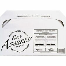 Impact Products Toilet Seat Covers 1/2 Fold 1000/CT White 25183273