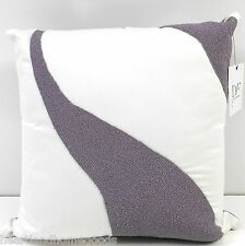 DIANE von FURSTENBERG Beaded DECORATIVE PILLOW NWT DVF PURPLE WHITE