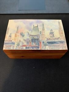 Hollywood Chinese Theatre Wooden Box