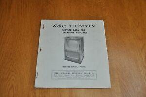 GEC BT6542 Television Receiver Genuine Service Manual