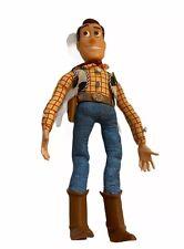 Vintage 1995 Disney Pixar Toy Story   Pull String Talking Woody Thinkway   READ