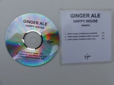 CDR  Single PROMO GINGER ALE Happy house REMIXES 3 titres