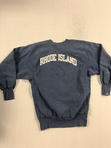 VINTAGE champion RHODE ISLAND REVERSE WEAVE crewneck Large VINTAGE