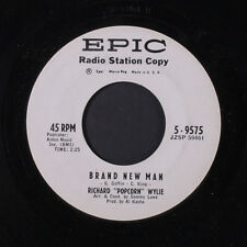 RICHARD 'POPCORN' WYLIE: Brand New Man / So Much Love In My Heart 45 (dj, North