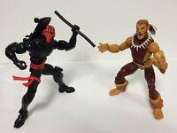 "LOT 2X Marvel Legends Puma + THRASHER Spider-Man 6"" Figure *No Kingpin BAF"