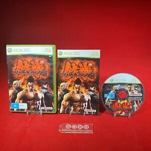 Tekken 6 - Microsoft Xbox 360 PAL Game Oz Seller Complete *BRCollectables*