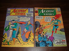 Action Comics 289-369--lot of 37 comic books
