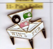 Pinsfolies *** Pin's Badge Jeux Billard americain