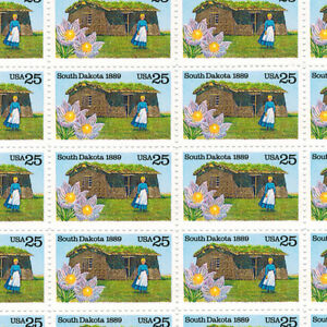 Full Mint sheet OF 50 #2416 SOUTH DAKOTA MNH OG