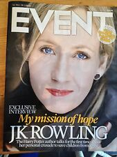 JK ROWLING interview SALVADOR DALI UK 1 DAY ISSUE MACKENZIE CROOK DAVID TENNANT