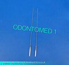 2 Pcs Bakes Rosebud Urethral Sounds 2mm+3mm