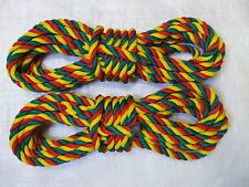 """2 X 30FT x14mm """"Jester"""" MOORING LINES CANAL NARROWBOAT"""
