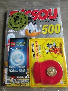 Picsou magazine N° 500 avec sou fétiche + pochette LEGO