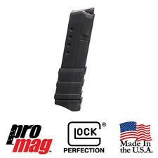 ProMag Black Polymer Magazine 10 Round GLK13 for Glock 43 9mm