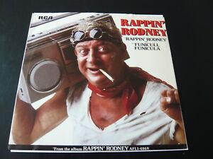 """RAPPIN' RODNEY...RAPPIN' RODNEY...RAP COMEDY USA 7"""" SINGLE 45 RPM"""