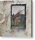 Led Zeppelin IV Remastered Album Cover Print Poster/ Canvas Framed Wall Art