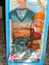 2011 KEN FASHIONISTAS FASHION TRENDY T-SHIRT & CAMO SHORTS #W3161!! BARBIE!!