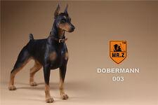 1:6 Mr.Z Animal Toys German Doberman Police Dog 12'' Figure Accessories 003