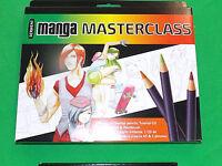 Manga Masterclass Derwent CD Tutorial 6 Inktense Pencils & A5 Sketchbook