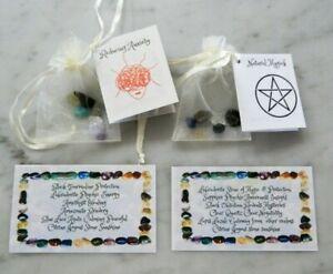 Crystal Sets Abundance Open 3rd Eye Goddess Emerging Anxiety, Fertility, Mind+