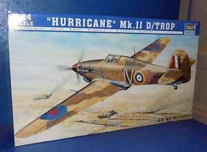 Trumpeter 1/24 02417 Hawker Hurricane Mk.IID / Trop